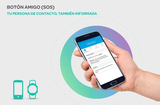 Imagen de la aplicación de WIIM para móviles