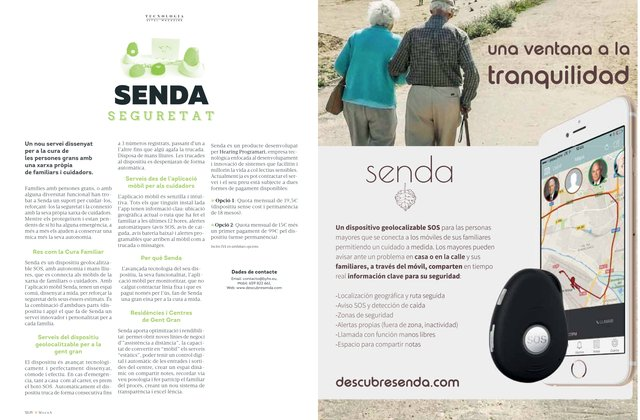 This month Senda appears in Magna Vital Magazine